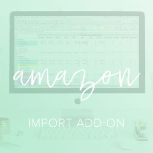 amazon import add on spreadsheet