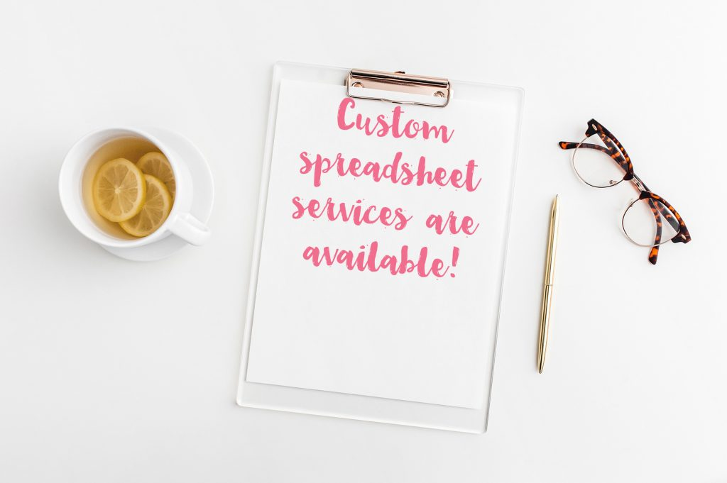 custom spreadsheet service