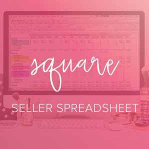 square seller spreadsheet from paper + spark