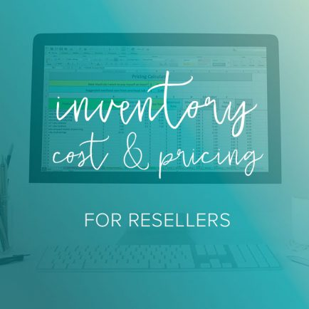 inventory spreadsheet for resellers from paper + spark