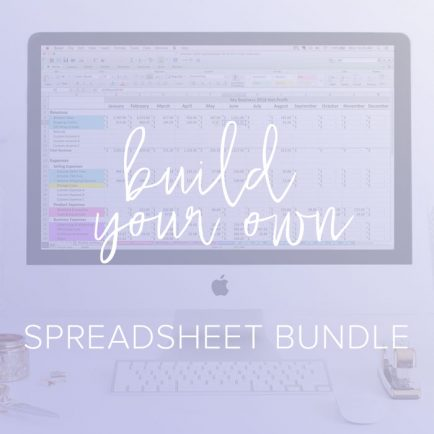 paper and spark spreadsheet bundle