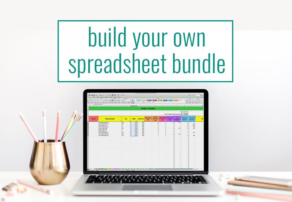 Build Your Own Spreadsheet Bundle