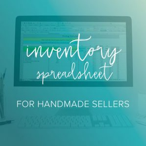 inventory spreadsheet for handmade sellers