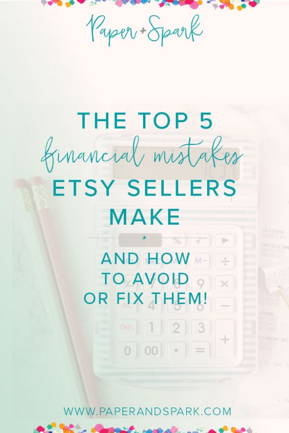 top 5 mistakes etsy sellers make and how to fix them